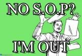 no sop